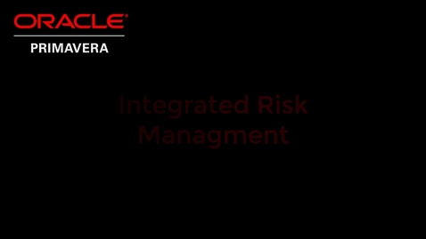 Thumbnail for entry Integrated Risk Management