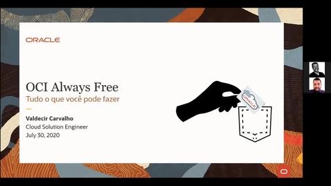 Thumbnail for entry OCI in Pocket- Always Free: O que pode ser feito no OCI gratuitamente