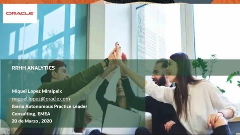 Thumbnail for entry Webinar HR Rapid Start | Obtener valor de los datos de recursos humanos mucho más rápido