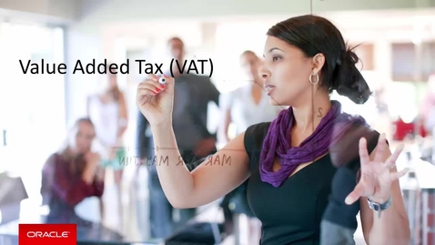 Thumbnail for entry Value Added Tax (VAT)