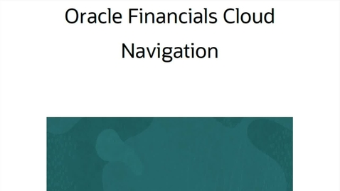 Thumbnail for entry ERP Cloud Navigation (Spanish)