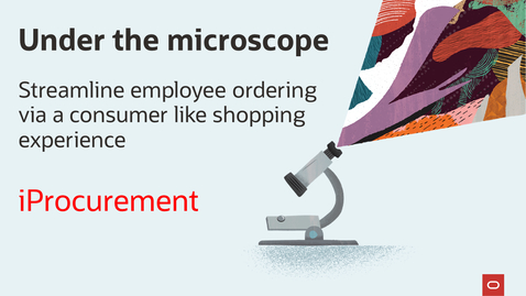 Thumbnail for entry Under the microscope: ECC enabled iProcurement