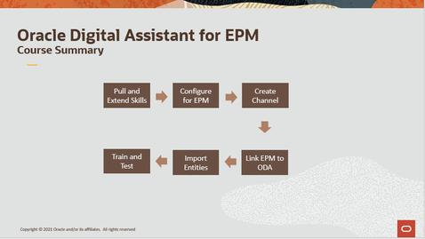 Thumbnail for entry Oracle Digital Assistant for Enterprise Performance Management (EPM)