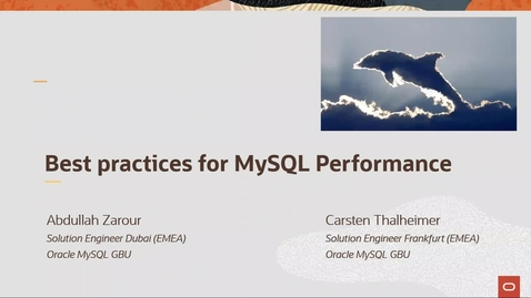 Thumbnail for entry Best practices for MySQL Performance