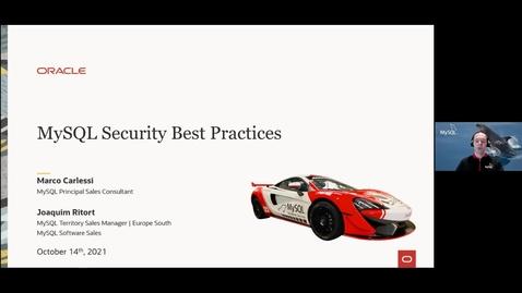 Thumbnail for entry Sicurezza in MySQL