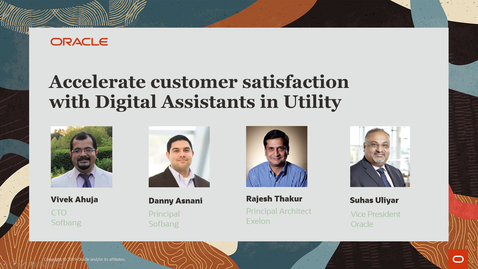 Thumbnail for entry Accelerate customer satisfaction with Digital Assistants in Utility