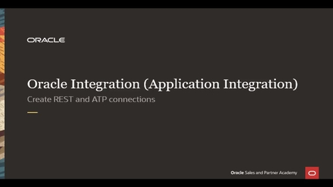 Thumbnail for entry Integration Lab - Create Connections