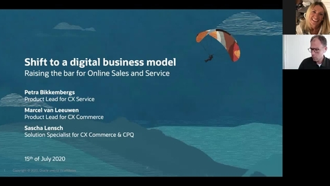 Thumbnail for entry CX Service Webinar: The Shift to a  Digital Business Model