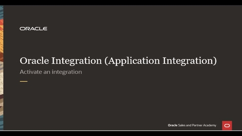 Thumbnail for entry Integration Lab - Activate Integration