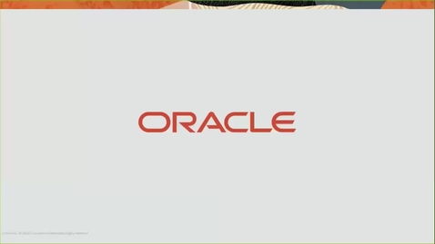 Thumbnail for entry Partner Webcast – Oracle Machine Learning Technologies with Autonomous Oracle Database - (2020/03/19)