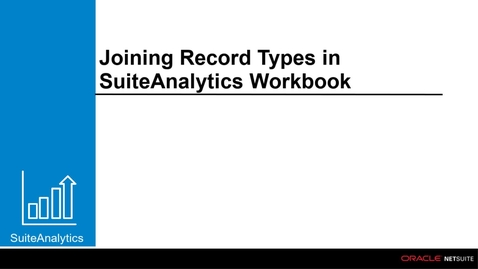 Thumbnail for entry Joining Record Types in Workbook