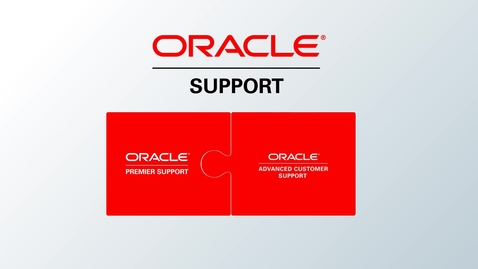 Thumbnail for entry Comprehensive Support for Oracle Stack and Oracle Cloud