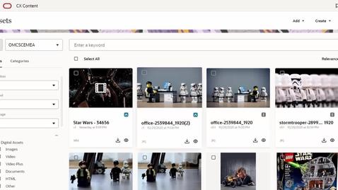 Thumbnail for entry CX Content - OMC Content Hub (Eloqua, Responsys, Maxymiser)