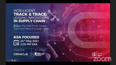 Thumbnail for entry Intelligent Track & Trace and coffee Experience