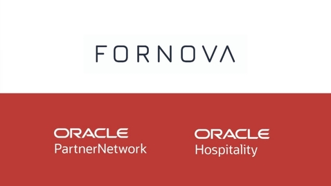 Thumbnail for entry Fornova OHIP Oracle Hospitality Innovation Week Video