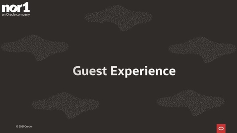 Thumbnail for entry Guest Experience
