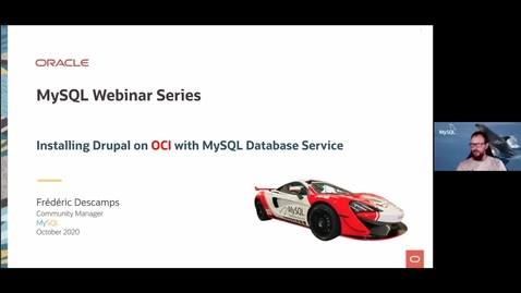 Thumbnail for entry Running Drupal with Oracle MySQL Database Service