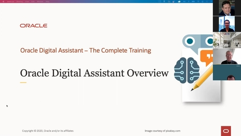 Thumbnail for entry Oracle Digital Assistant Overview hosted by EPM