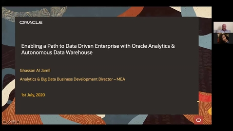 Thumbnail for entry Enabling a Path to Data Driven Enterprise with Oracle Cloud - HOL