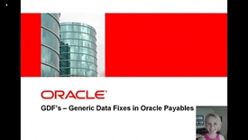 Thumbnail for entry 1360390.1 R12: AP: Master GDF Diagnostic (MGD) Analyzer to Validate Data Related to Invoices, Payments, Accounting, Suppliers and EBTax