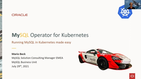 Thumbnail for entry Vorstellung des MySQL Operators für Kubernetes