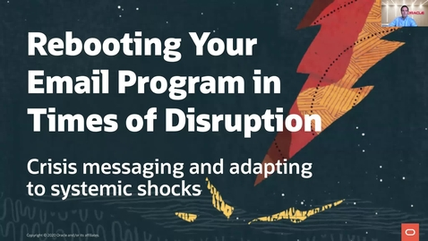 Thumbnail for entry Rebooting Your Email Program in Times of Disruption: Crisis Messaging and Adapting to Systemic Shocks