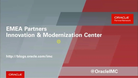 Thumbnail for entry Partner Webcast – Machine Learning Tools in Oracle Analytics Cloud Service - (2020/04/09)
