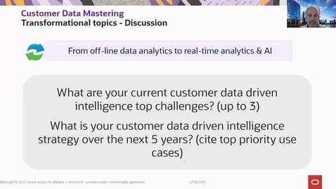 Thumbnail for entry Customer Data Mastering for Siebel and DX4C