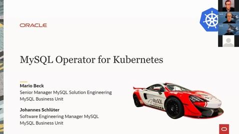 Thumbnail for entry MySQL Operator for Kubernetes