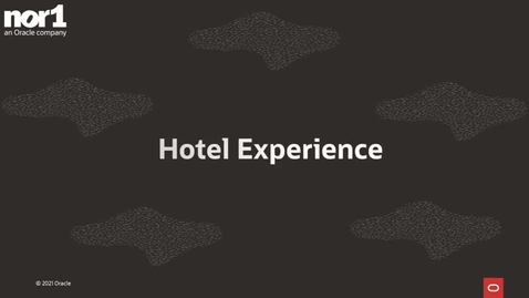 Thumbnail for entry Hotel Experience