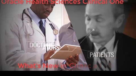 Thumbnail for entry What's New in Clinical One 1.3 -  Training Studies
