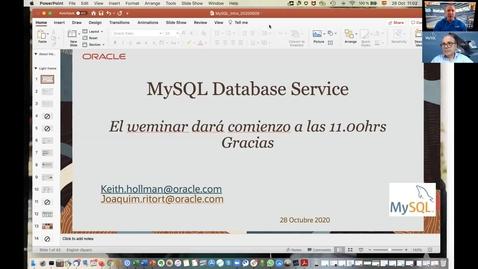 Thumbnail for entry introducción a MYSQL Database Service