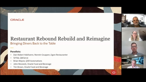 Thumbnail for entry Restaurant Rebound Rebuild and Reimagine: Bringing Diners Back to the Table