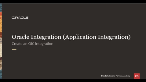Thumbnail for entry Integration Lab - Create Integration