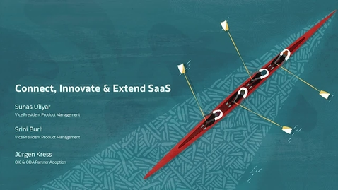 Thumbnail for entry Connect, Innovate & Extend SaaS Partner Kickoff Webcast