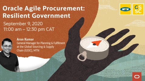 Thumbnail for entry Oracle Agile Procurement: Resilient Government