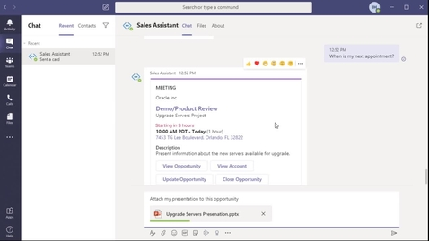 Thumbnail for entry Sales | Prepare for Your Next Meeting with Sales Assistant