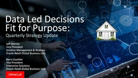Thumbnail for entry Data-Led Decisions, Fit for Purpose: Quarterly Strategy Update