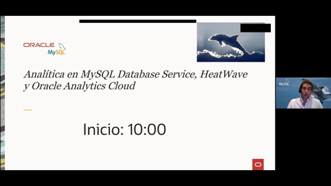 Thumbnail for entry Analítica en MySQL Database Service, HeatWave y Oracle Analytics Cloud