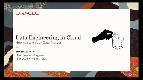Thumbnail for entry OCI in Pocket - Começando projetos de engenharia de dados na cloud