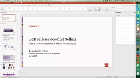 Thumbnail for entry B2B Self-Service First Selling