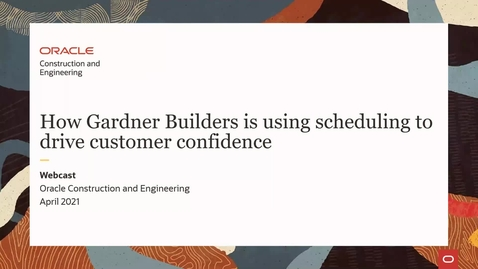 Thumbnail for entry How Gardner Builders is using scheduling to drive customer confidence