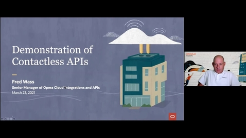 Thumbnail for entry Oracle Hospitality Innovation Week: Live Demonstration of Contactless APIs