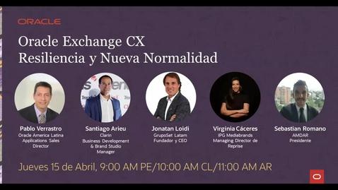 Thumbnail for entry Oracle Exchange - Resiliencia y Nueva Normalidad