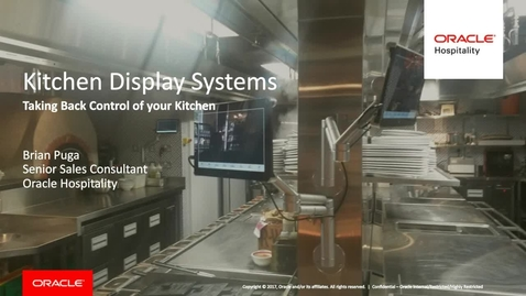 Thumbnail for entry Take Control of Your Kitchen - Webcast