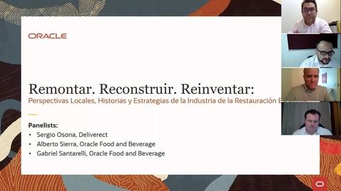 Thumbnail for entry Perspectivas locales, historias y estrategias de la Industria de la Restauración Española