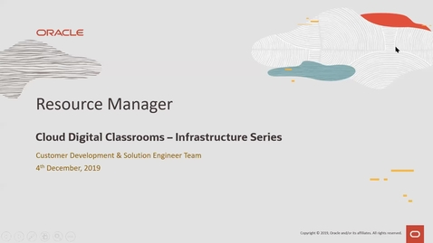 Thumbnail for entry Resource Manager - Cloud Digital Classroom recorded on 4th December 2019