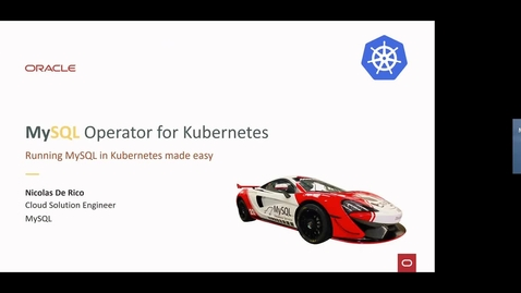 Thumbnail for entry Introduction to Oracle MySQL Kubernetes Operator