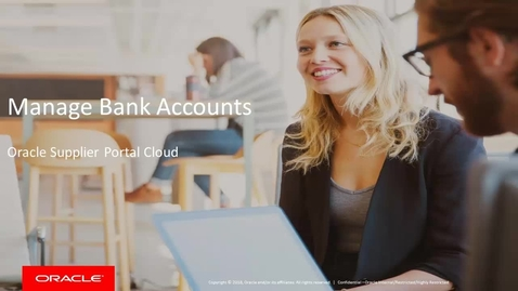 Manage Bank Accounts