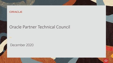 Thumbnail for entry Partner Technical Council - Keynotes